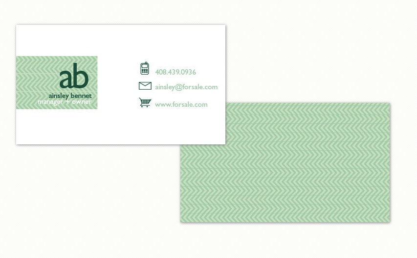 Get seriously nice business cards at minted agoura hills mom classic minted business card colourmoves