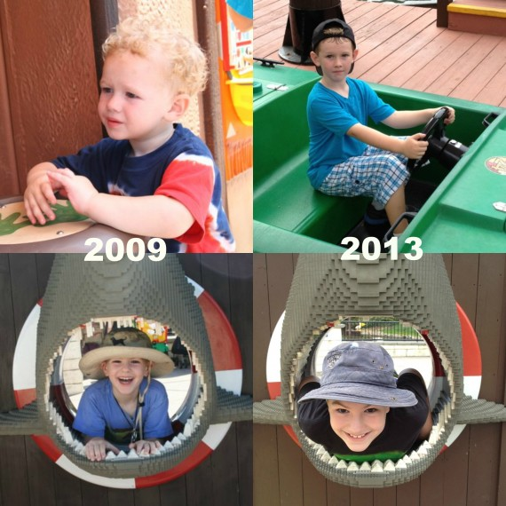 legoland then and now
