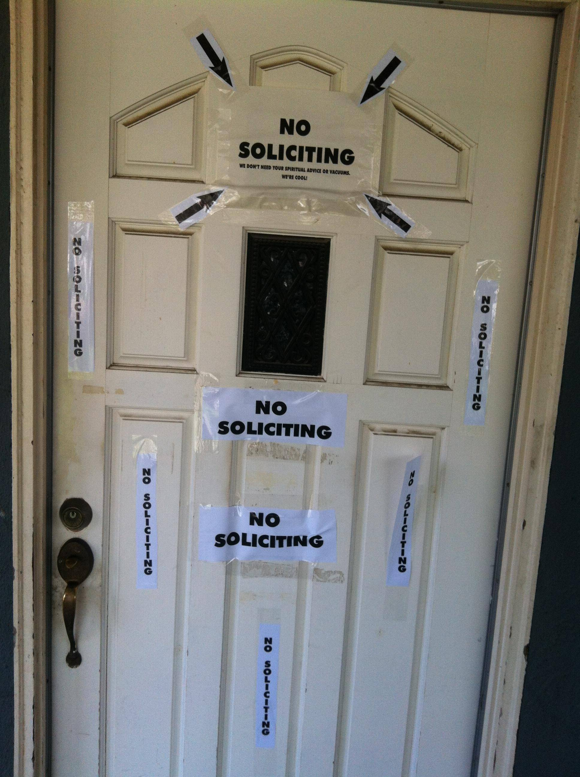 Imgur No Soliciting