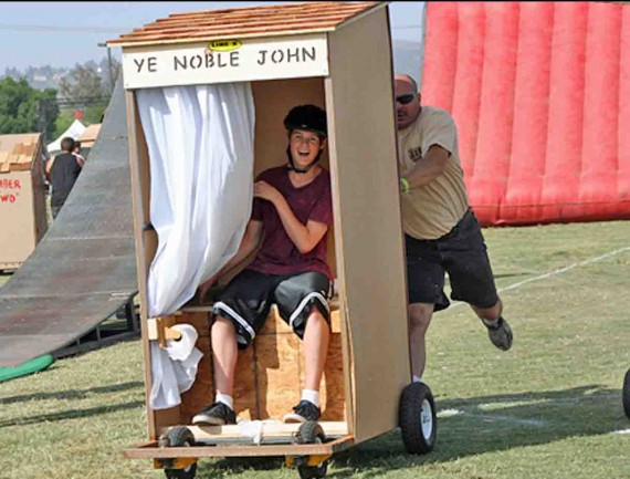 CVD outhouse races small