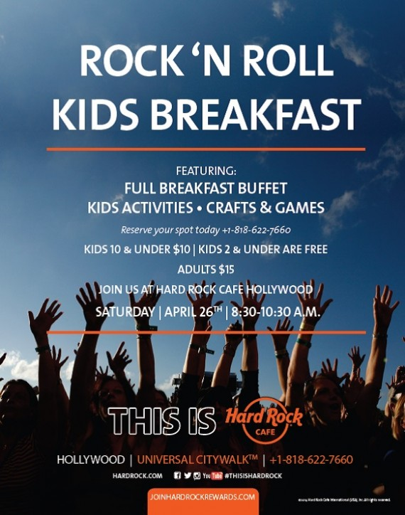 Rock 'N Roll Kids Breakfast 4.26.14