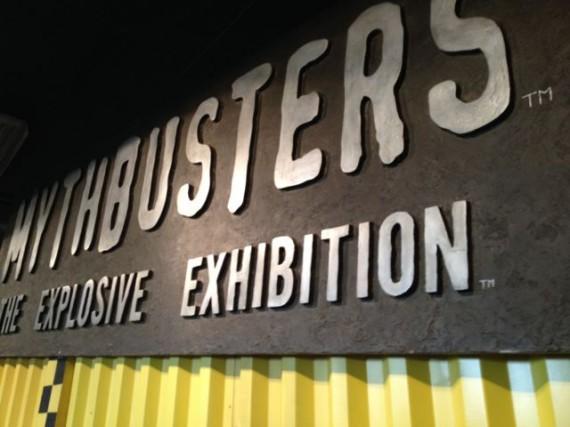 explosive exhibition sign