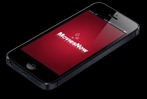MoviesNow flat iPhone