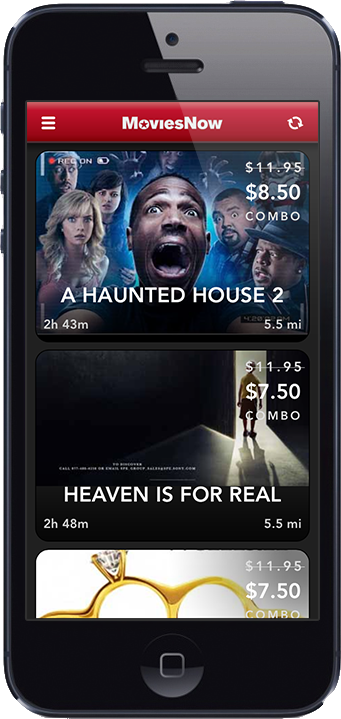 MoviesNow screenshot- Home