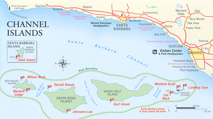 Channel Islands National Park Land Access