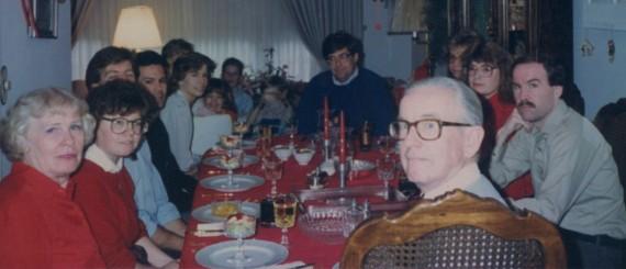 christmas dinner in the 80's