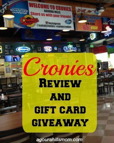 cronies review giveaway pinterest