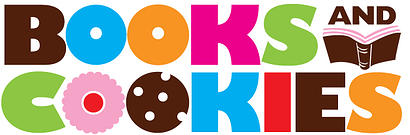 books and cookies logo