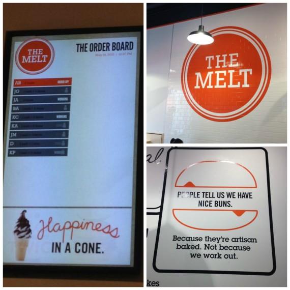 The Melt Signage