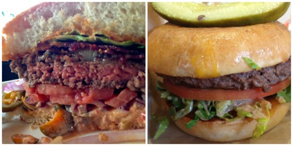 stacked and the melt burgers