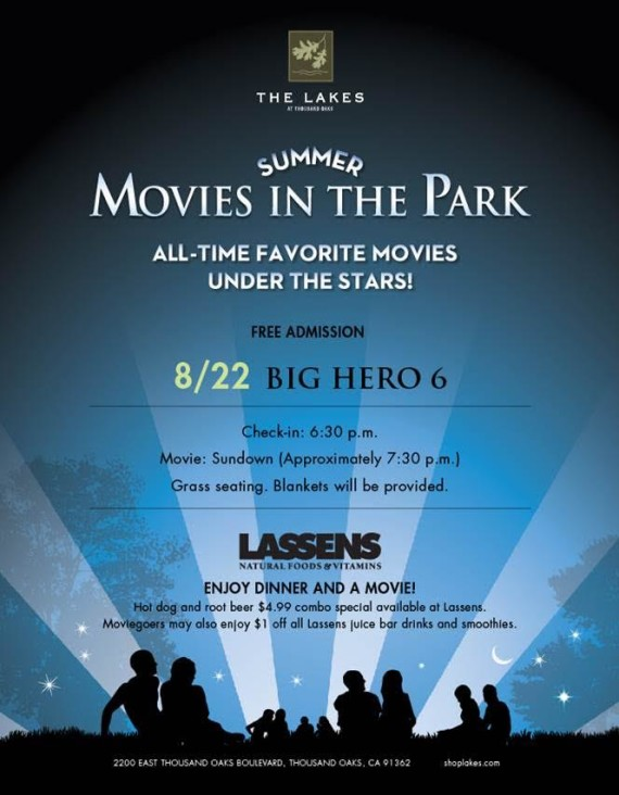 movies at the lakes