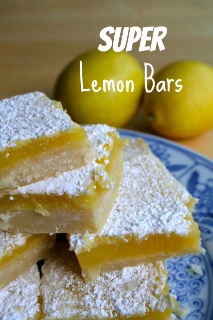 super lemon bars