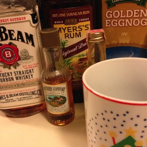 egg nog ingredients