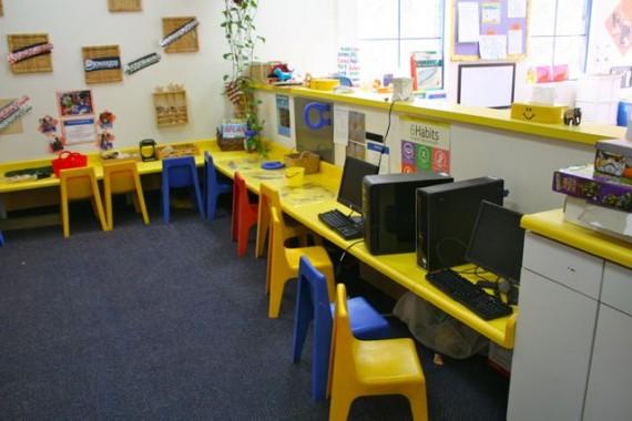 Preschool room at Tutor Time in Agoura Hills