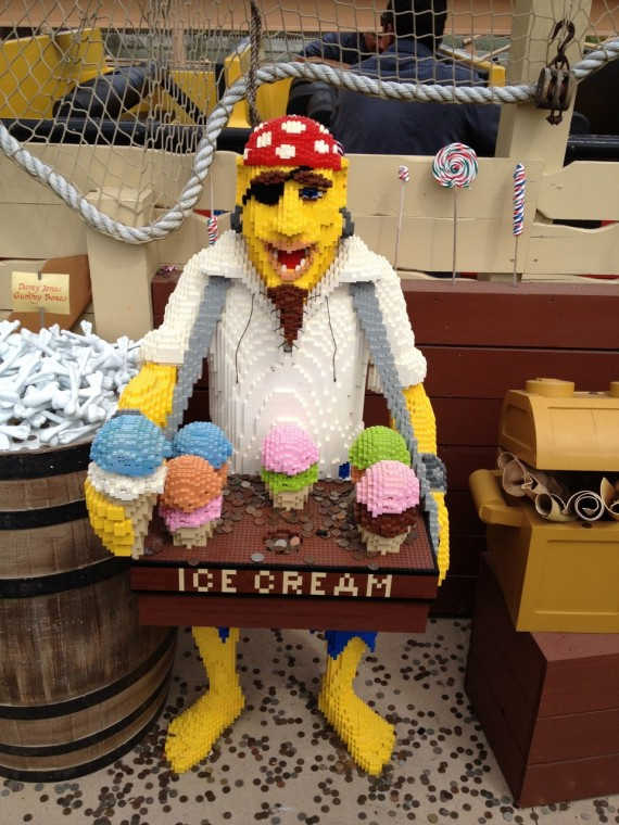 LEGO Ice Cream Pirate at LEGOLAND