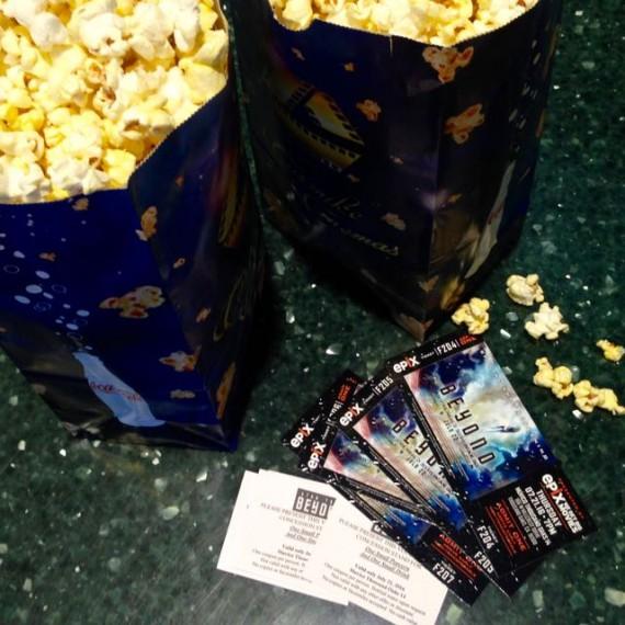 star trek beyond tickets popcorn