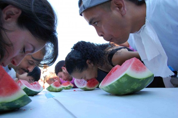 *WF-adult eating contest