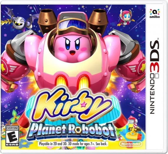 kirby planet robobot box