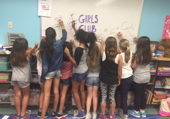 girls club teamwork