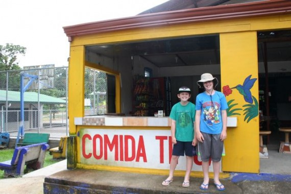 costa rica with kids soda