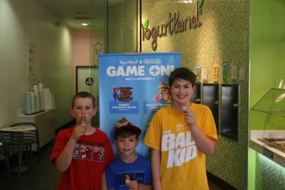 yogurtland super mario kids