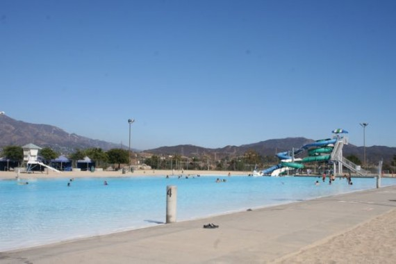 hansen dam aquatic center pool