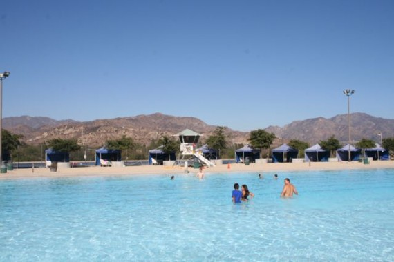 hansen dam aquatic center shade tents