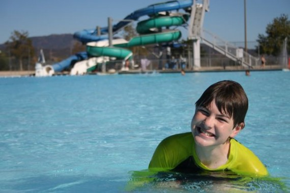 hansen dam aquatic center child