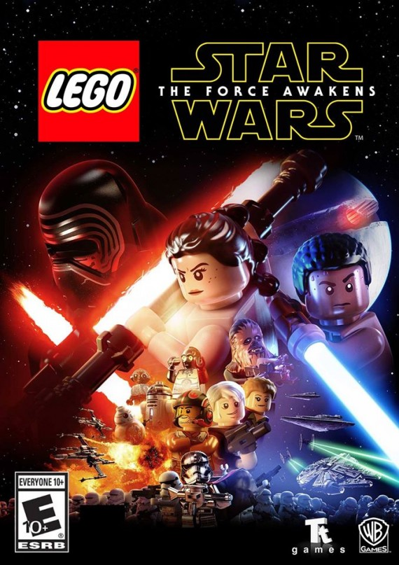 lego star wars force awakens cover