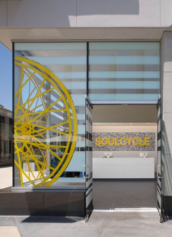 soulcycle entrance