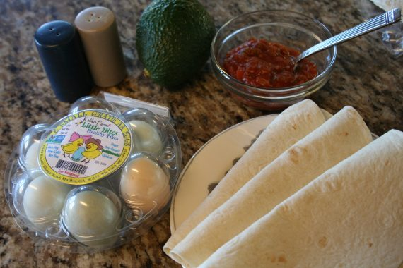 eggs tortillas salsa