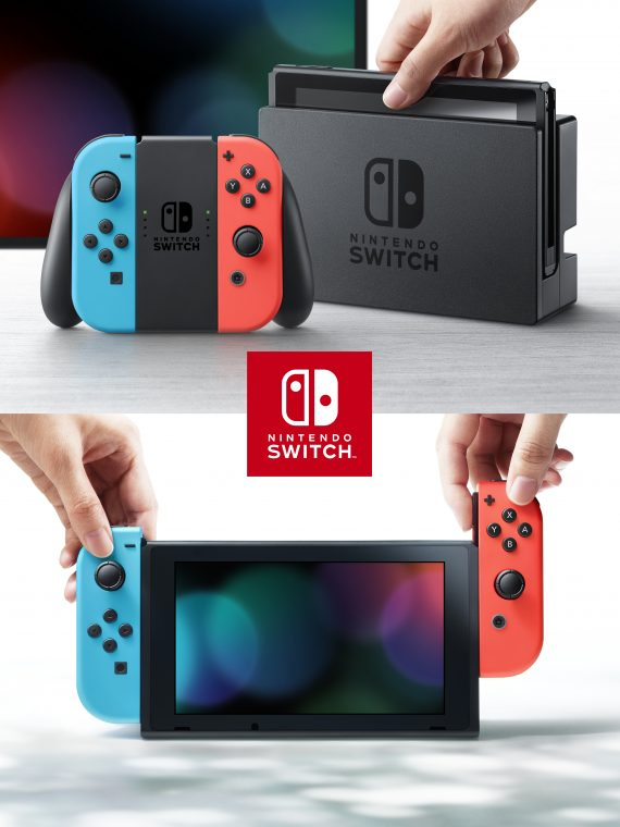 Nintendo Switch product photo