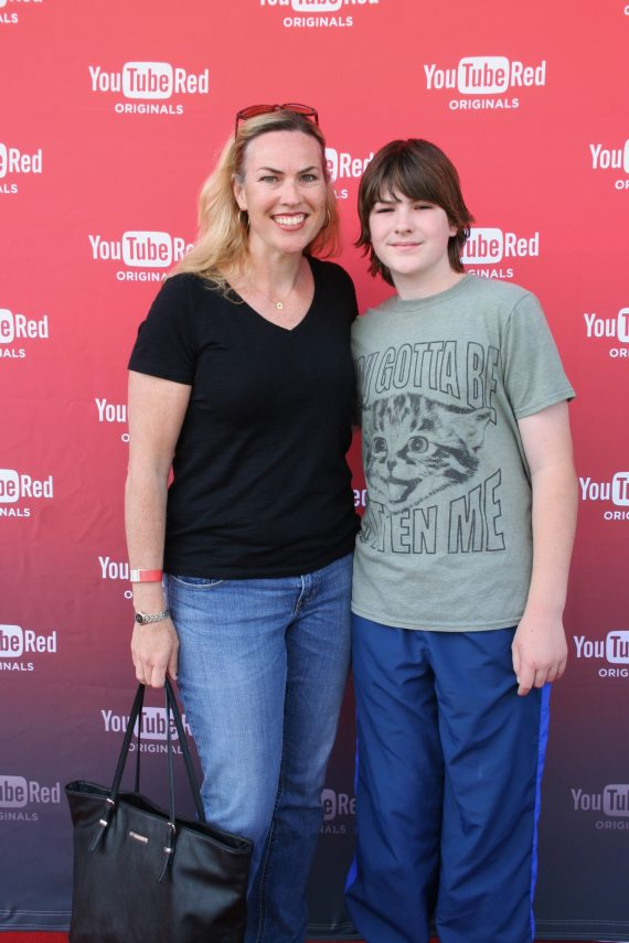 youtube red step and repeat