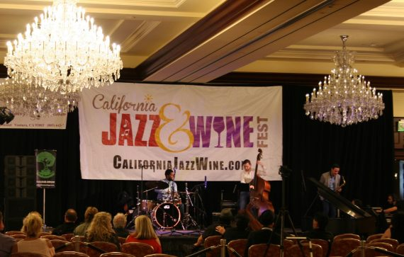 Celebrity Cruises at wine and jazz festival