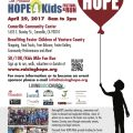 Hope4Kids flyer