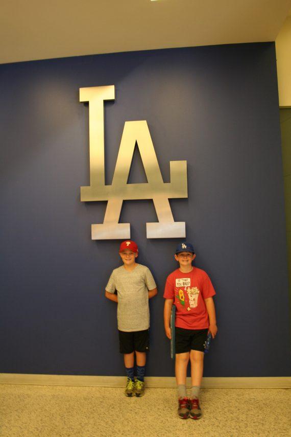 Dodger Stadium LA symbol