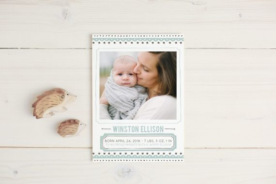 Unique Birth Announcements at Basic Invite Agoura Hills Mom – Unique Birth Announcement Cards
