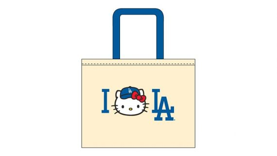 Dodger Stadium hello kitty