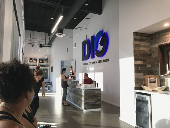 Dig Cycle lobby